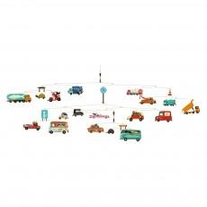 Mobile Trafic Multicolore