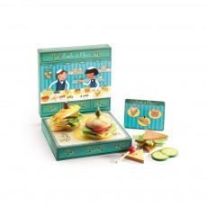 Jeu de sandwicherie Emile et Olive Multicolore