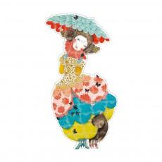 Puzzle géant Princesse Charline Multicolore