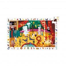 Puzzle observation Le cirque Multicolore