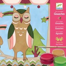 Les animaux d'Aiko - Gouaches Multicolore