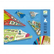 Origami - Avions Multicolore