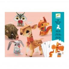 Bois joli - Paper toys Multicolore