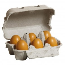 Boîte de 6 oeufs bruns
