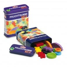 Boîte de bonbons colorés