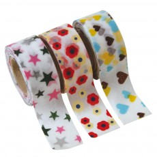 Set de 3 Masking tape Kids - Motifs