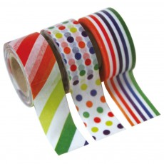 Set de 3 Masking tape Kids - Rayures