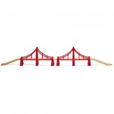 Double pont suspendu
