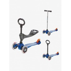 Trottinette Mini Micro 3 en 1 - Bleu