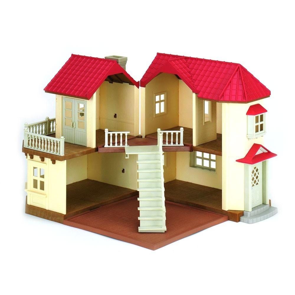 grande maison tradition clair e sylvanian jeux jouets. Black Bedroom Furniture Sets. Home Design Ideas