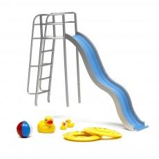 Accessoires maison de poupée - Kit accessoires piscine