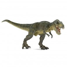 Dinosaure T-Rex courant vert
