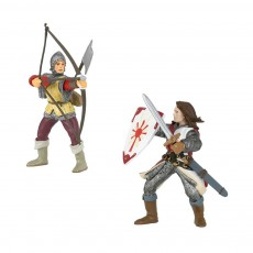 Figurines Armes rouges