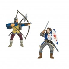 Figurines Armes Bleues