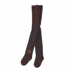 Collants Chevrons Marron