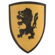 Bouclier Lion jaune Jaune