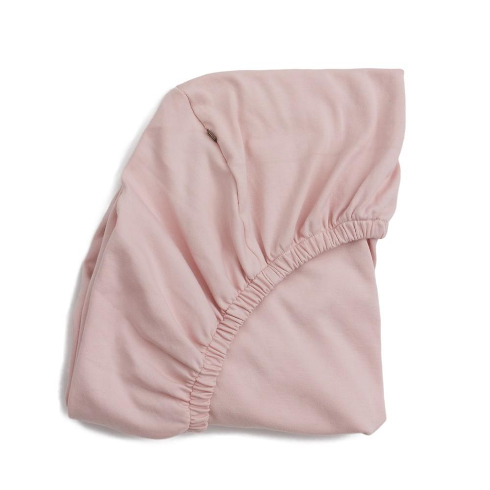 Drap et parure de lit d coration enfant smallable for Housse matelas a langer rose