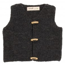 Cardigan sans manches Percy