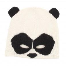 Bonnet Panda Blanc
