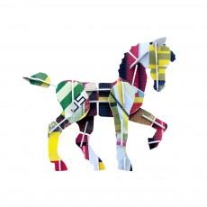 Jeu de construction Totem Cheval Multicolore