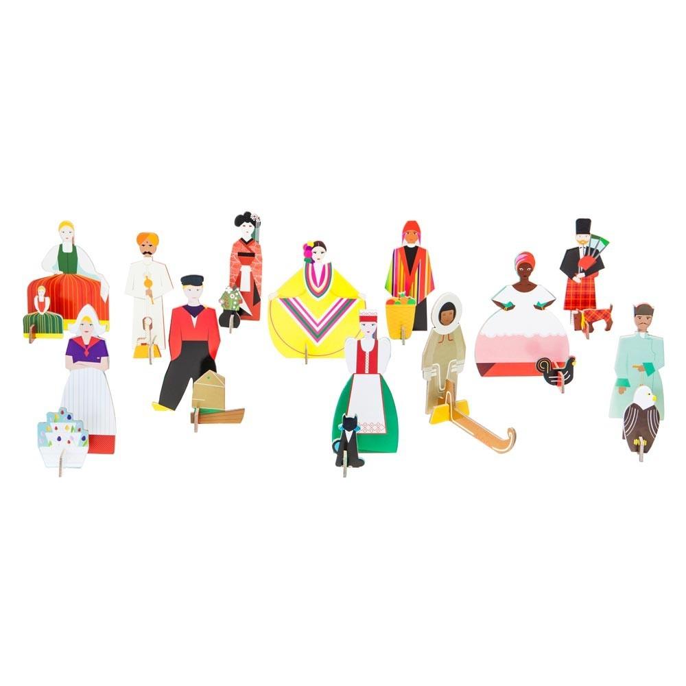 jeu de construction totem personnages studio roof jeux jouets loisirs enfant smallable. Black Bedroom Furniture Sets. Home Design Ideas
