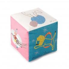 Cube en coton avec grelot - Cirque