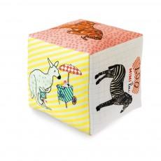 Cube zoo avec grelot