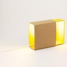 Boîte à lumière - Jaune