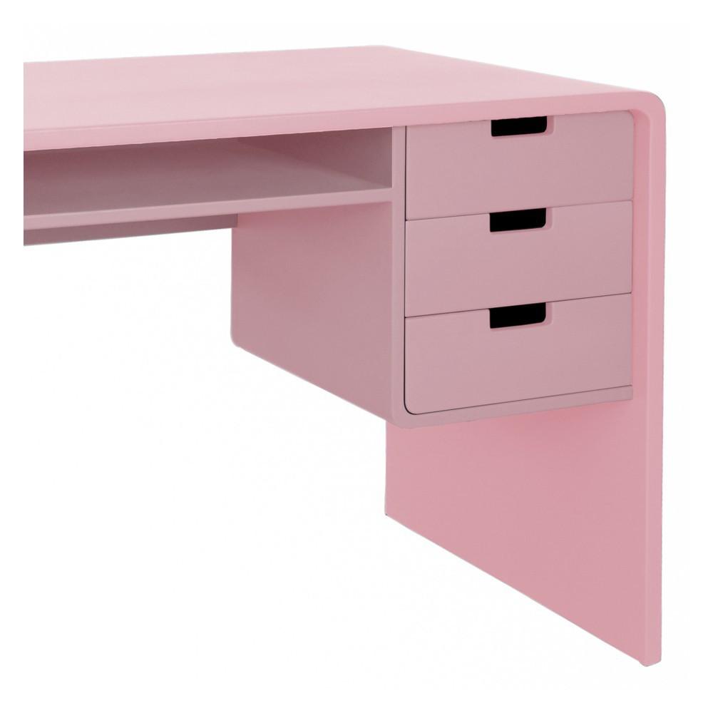 bureau l65 vieux rose laurette mobilier smallable. Black Bedroom Furniture Sets. Home Design Ideas