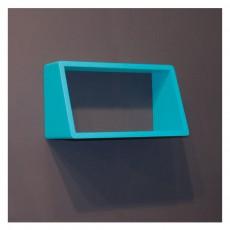 Etag res biblioth ques mobilier smallable - Etagere murale bleu turquoise ...