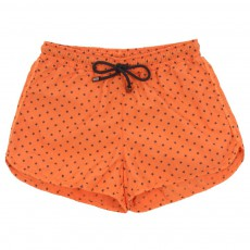Short de Bain Bahia Etoiles Orange