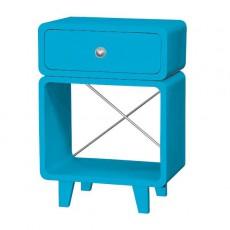Table de chevet Zzz - Turquoise