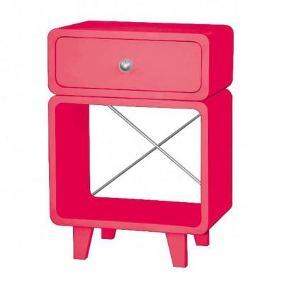 Table de chevet zzz bubble gum laurette mobilier - Mini table de chevet ...