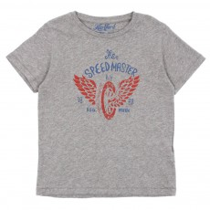 T-shirt Speedmaster Gris chiné
