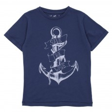 T-shirt Anchor Bleu roi