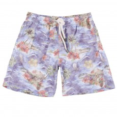 Short De Bain Aloha Multicolore