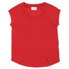 T-shirt Teenage Lin Rouge framboise
