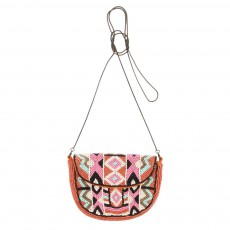 Mini Sac Perles Rose