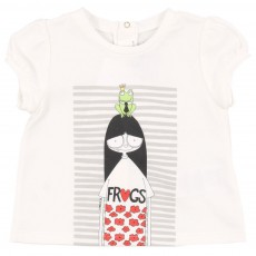 T-shirt Miss Marc Frogs Bébé