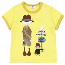 T-shirt Little Marc Aventurier Jaune