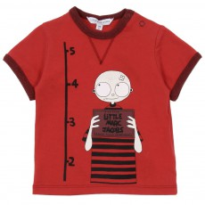 T-shirt  Little Marc Prisonnier Rouge framboise