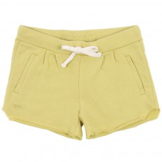 Short Molleton Misty Jaune
