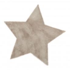 Tapis étoile - Beige