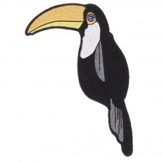 Patch Toucan Noir
