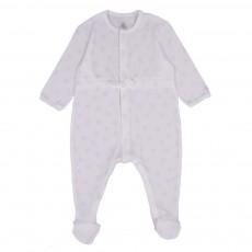 Pyjama à cordon Blanc