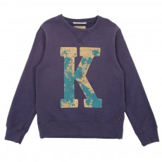 Sweat K Bleu marine