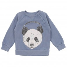Sweat Panda Bleu