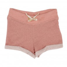 Short Lurex Rose