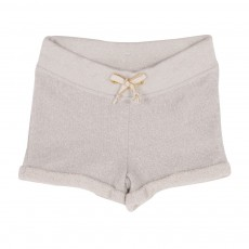Short Lurex Naturel