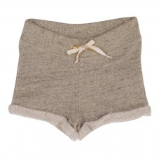 Short Lurex Gris chiné